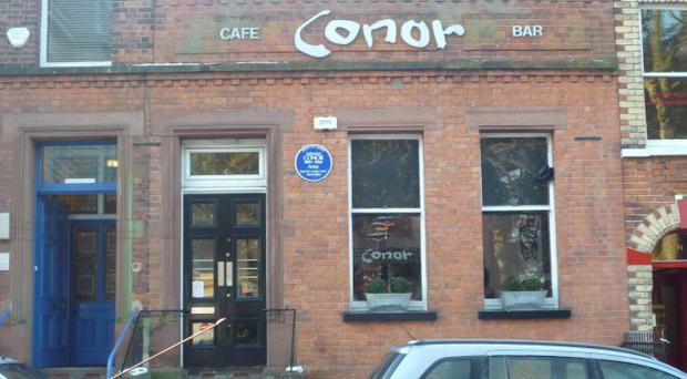 IT'S FRY DAY: Cafe Conor on the Stranmillis Road