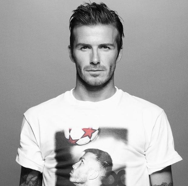 David Beckham and his family are helping to kick off Sport Relief 2010
