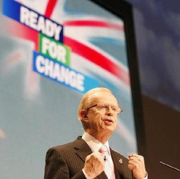 The UUP's Sir Reg Empey