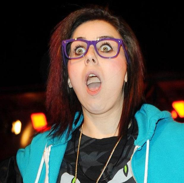 Lady Sovereign evcted from the Celebrity Big Brother house