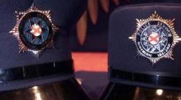 Shots have been fired at a police station in south Armagh