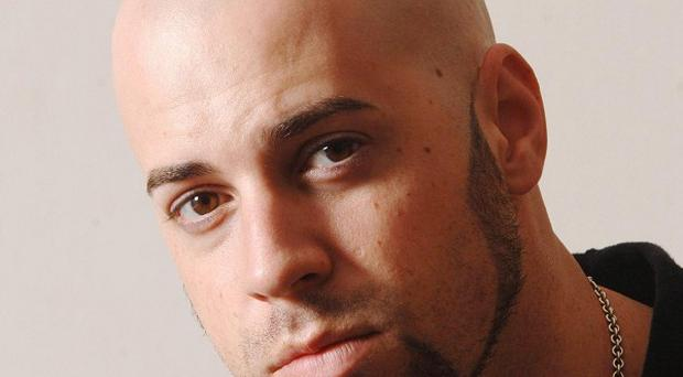 Chris Daughtry isn't used to performing during the day