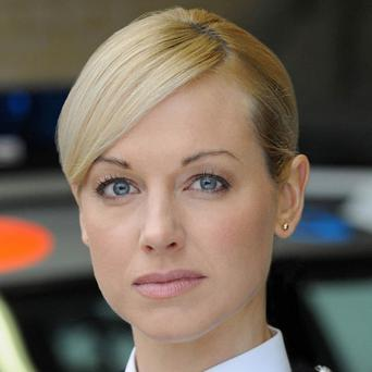Sarah Manners loves being in a police car for her Bill role
