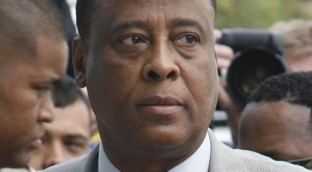 Conrad Murray has returned to his medical practice