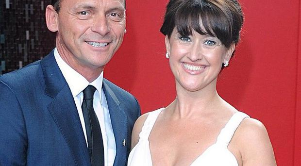 Perry Fenwick and Angela Lonsdale have separated after five years of marriage