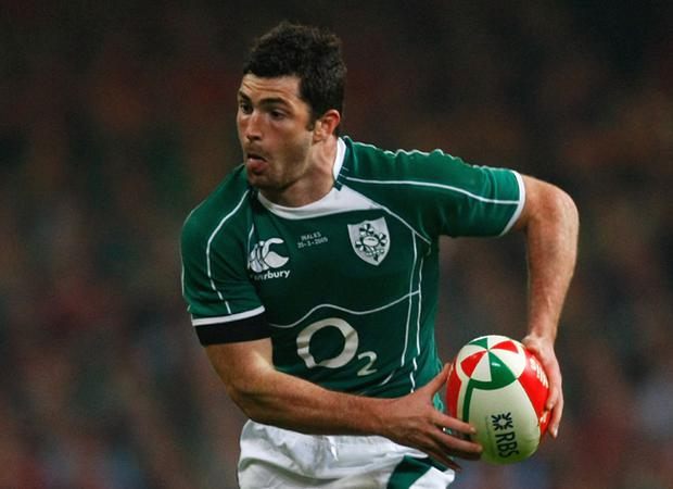 <br /><b>Rob Kearney - 5</b><br /> Ominously dropped the kick-off, but recovered and gathered his own high kick during Ireland's opening purple patch. Left injured before half-time and could be a doubt for Twickenham