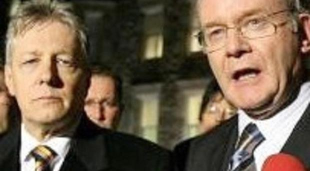 First Minister Peter Robinson and his deputy Martin McGuinness want the public to study the deal