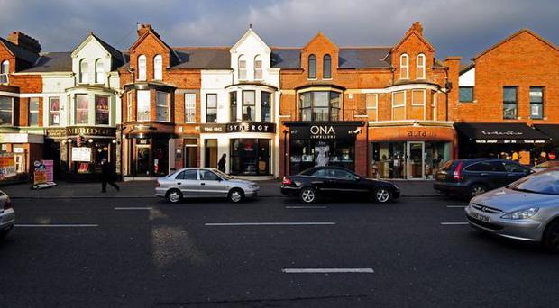 Ebb and flow — There have been mixed fortunes for traders on the Lisburn Road, with some thriving (above) and others complaining of a decrease in takings, making the high rent for the units simply too dear to continue to stay at the location