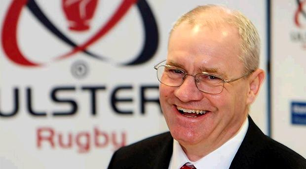 Shane Logan during his first public appearance since becoming Ulster's Chief Executive