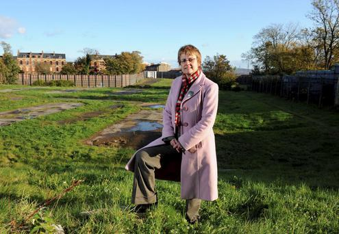 Proposals: Margaret Ritchie at the former Girdwood army barracks site