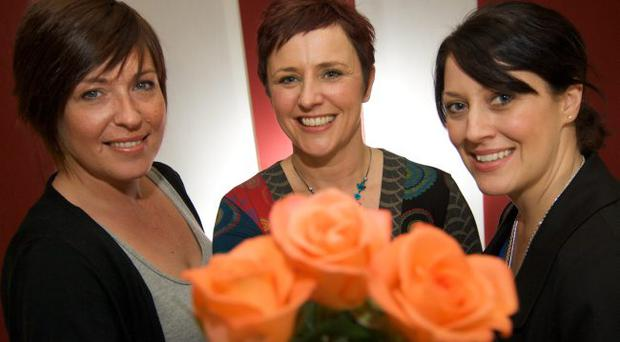 Life's blooming — Jenny Grainger, Anne Rowney and Ingrid Darragh have all been through deep personal crises, but survived