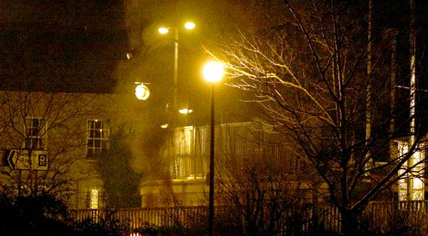 A car bomb explodes near a courthouse in Newry