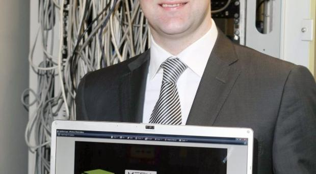 Boxing clever - Shane Meehan pictured at his Newry-based office