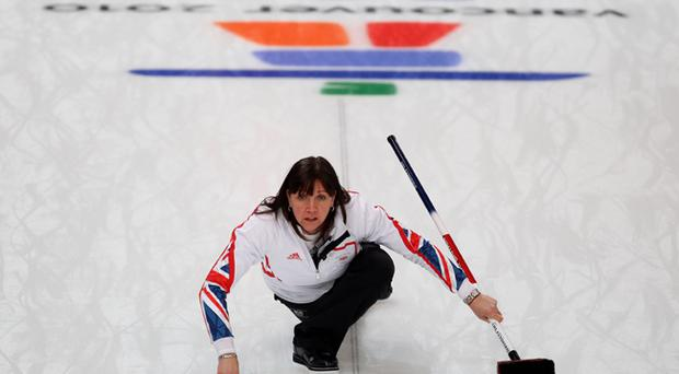 British curling veteran Jackie Lockhart