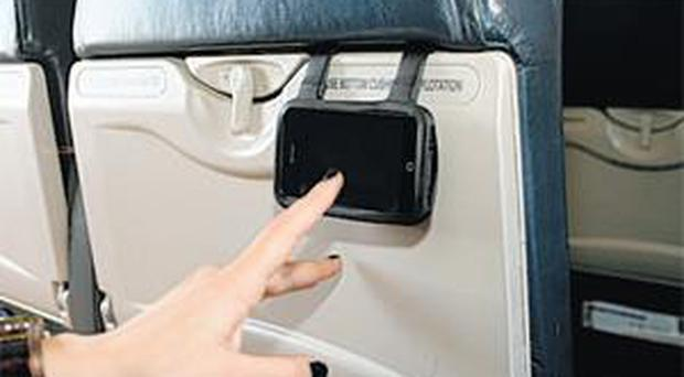 <b>Seat Buddy</b> Make long journeys fly by with the Seat Buddy, which hangs over the back of a car seat, train headrest or fold-up plane table. It enables you (or your ankle-biters) to watch your iPhone videos with relative ease. Price: £15.47 Mobilefun.co.uk