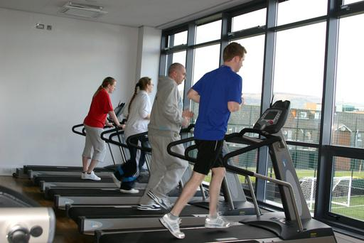 Keep fit fans try out the new facilities at Shaftesbury Community and Recreation Centre