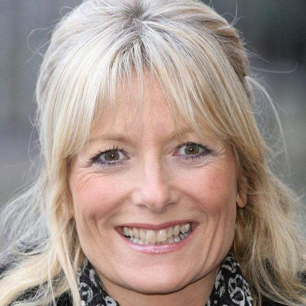 TV presenter Gaby Roslin is backing the Target Ovarian Cancer campaign