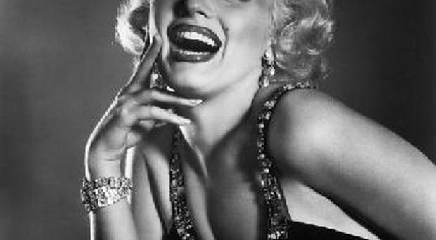 Movie star and blonde bombshell Marilyn Monroe starred in the 1953 film 'Gentlemen Prefer Blondes'.