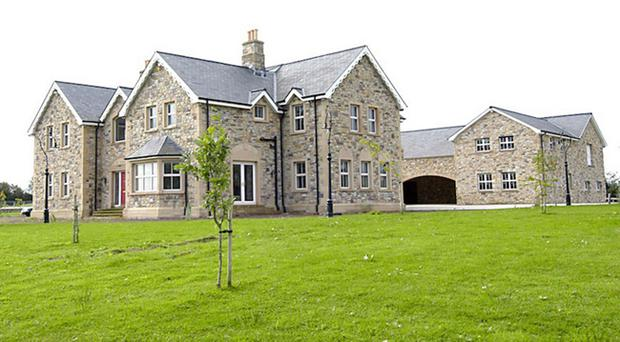 The luxury home owned by Patrick Gerry Small and his wife Mary
