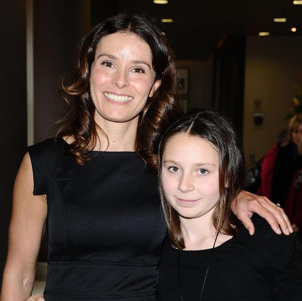 Newly crowned Tesco Mum of the Year Tana Ramsay and her daughter Megan
