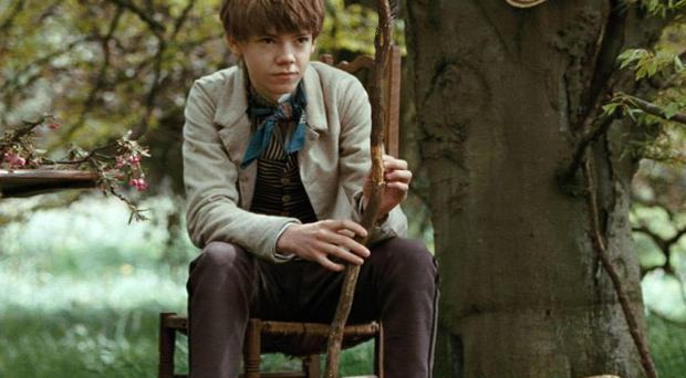 Thomas Sangster said it took a while to get out of his costume