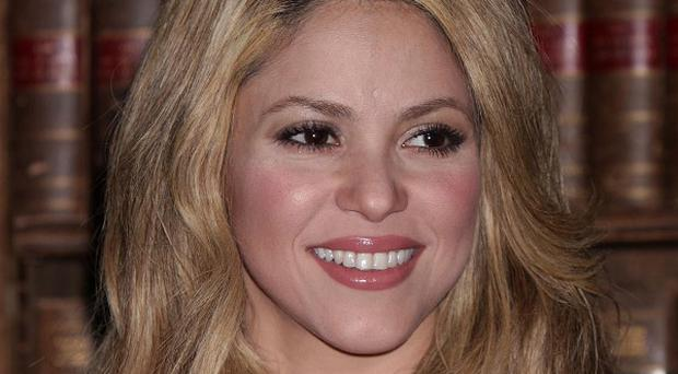 Shakira has been honoured for her charity work