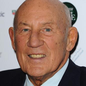 Motor racing veteran Stirling Moss