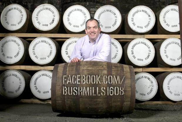 Colum Egan, Master Distiller at Old Bushmills Distillery