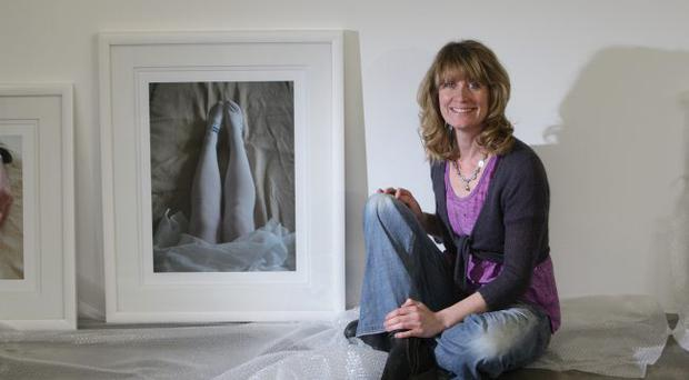 Sonya Whitefield's exhibition at the Golden Thread Gallery, Belfast, was inspired by her illness which resulted in a hysterectomy