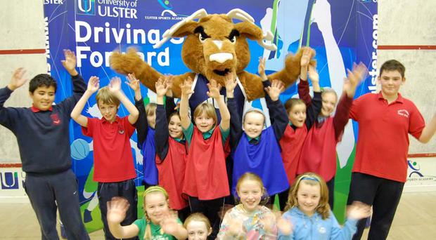 Children look forward to the Easter Sports Camps which are set to take place at all three University of Ulster campuses