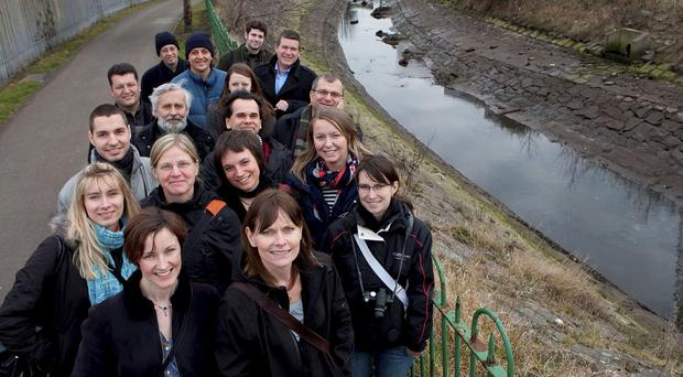 The CCG environmental project played host to European visitors this week