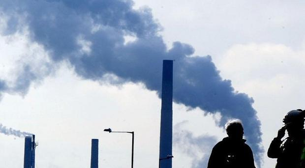 'Very high' levels of air pollution recorded in Northern Ireland