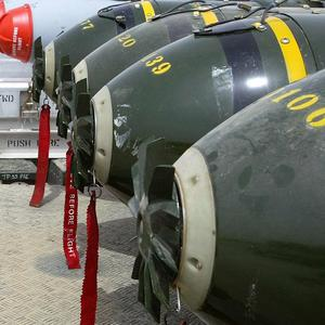 UK's armed forces are banned from using cluster bombs