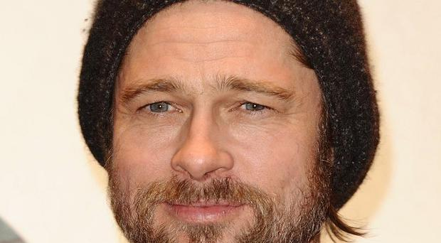 Brad Pitt grew his new beard out of boredom