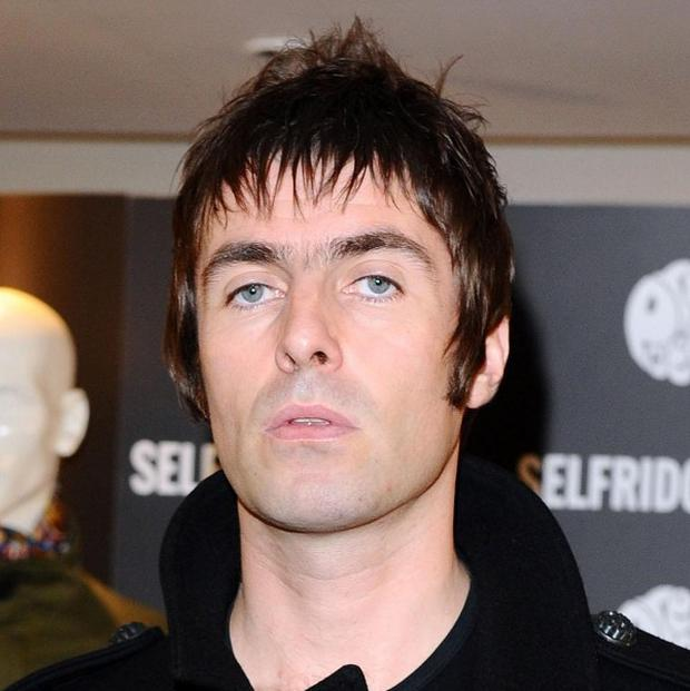 Liam Gallagher has been named the best frontman