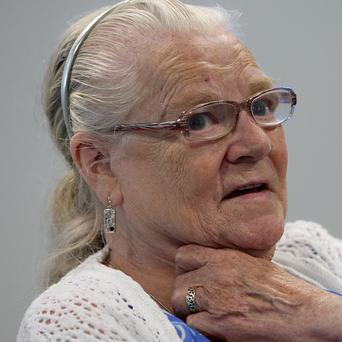 Winnie Johnson, mother of murder victim Keith Bennett