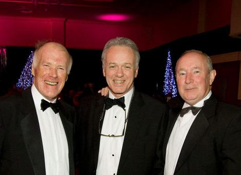 Belfast Telegraph Business Awards Pictured left to right are: Robin Morton, Noel Thompson and Martin Lindsay.