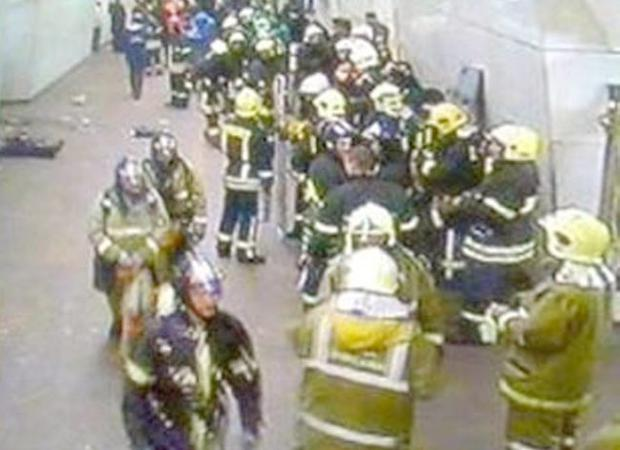 Scenes from the Moscow suicide bomb attacks. Monday March 29, 2010.