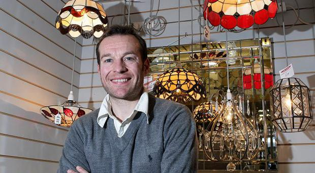 Family affair: James McIlroy believes the future lies in expansion on the internet as it has already massively increased the business's market share