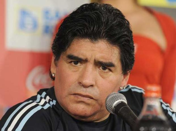 Diego Maradona has undergone facial surgery after being attacked by one of his dogs