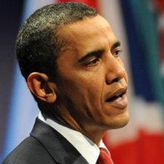 Barack Obama said he is not prepared to wait months for Iran sanctions