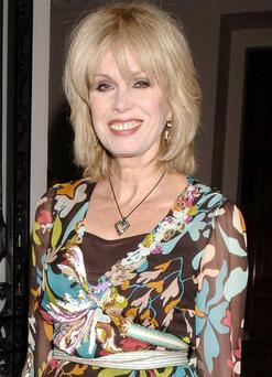 It's hard to find any other reason for insulting Joanna Lumley