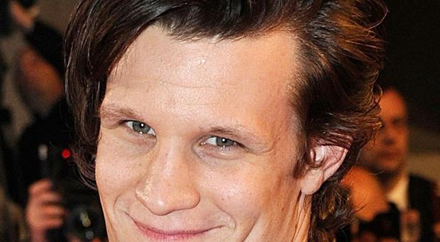 File photo dated 14/05/09 of Doctor Who actor Matt Smith who has already broken four sonic screwdrivers while getting to grips with his role as the new Timelord.