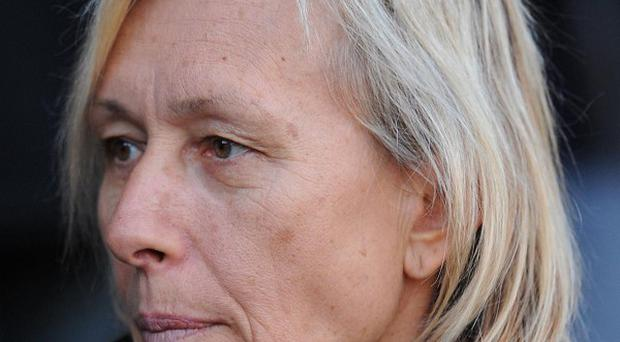 Martina Navratilova has revealed she has been diagnosed with breast cancer