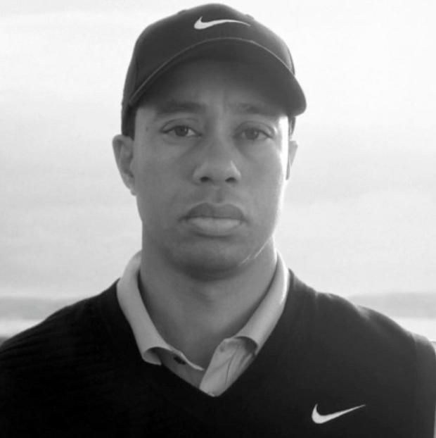 Tiger Woods appears in a new Nike commercial