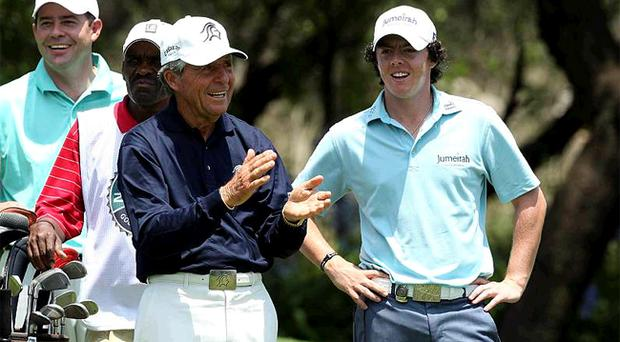 Gary Player reckons Rory McIlroy needs to work harder on his fitness if he is to fulfil his true potential on the course