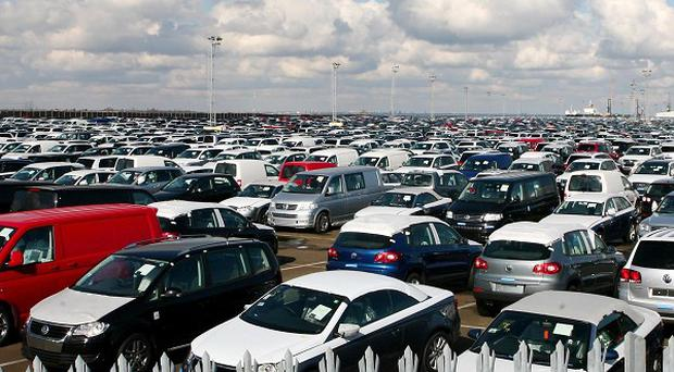 New car sales are expected to show a healthy rise for March