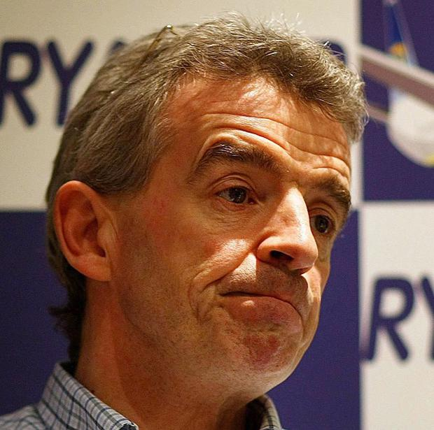 Ryanair chief executive Michael O`Leary wants runway extension at Belfast City Airport