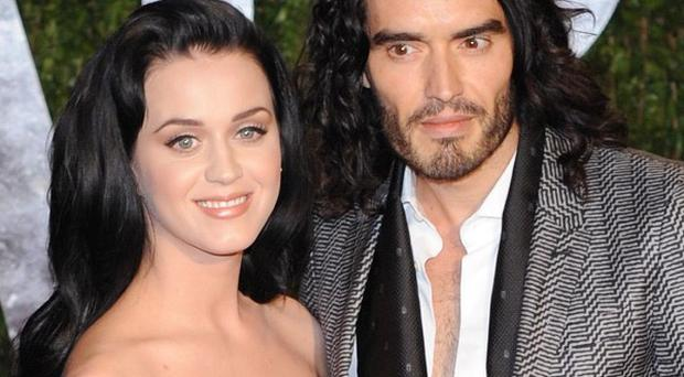 Katy Perry and Russell Brand's first kiss has been cut from Get Me To The Greek