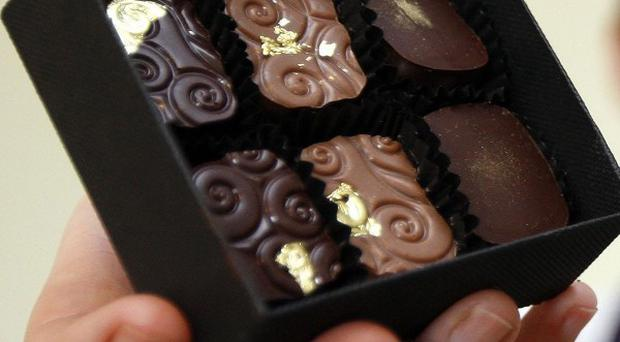 A Scottish firm has launched haggis flavoured chocolates